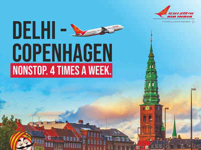 Air India flies you to Copenhagen
