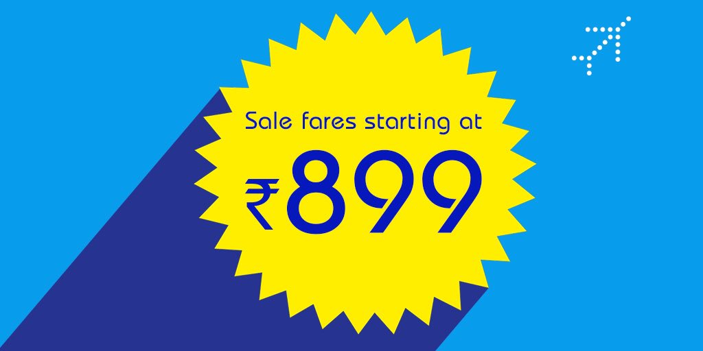 indigo airlines announces monsoon sale offering special airfare rs