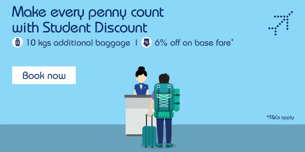 Every penny counts with student discount