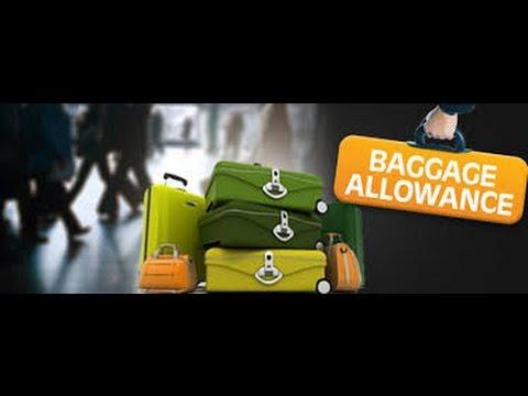 Jet Airways Baggage Allowance Farehawker An Aviation Portal