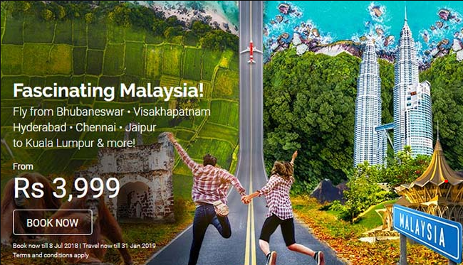 Fascinating Malaysia – AirAsia Offer Discounts On International Flight Tickets