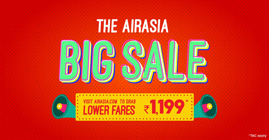 The AirAsia BIG SALE is here