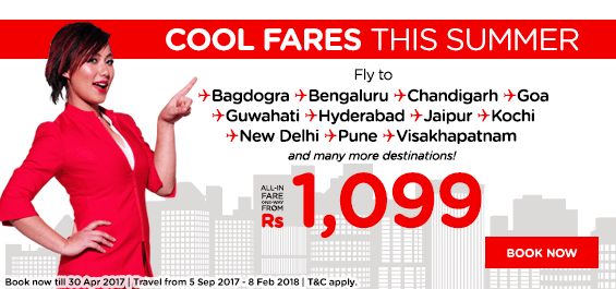 Cool Air Fares for Hotty Summer