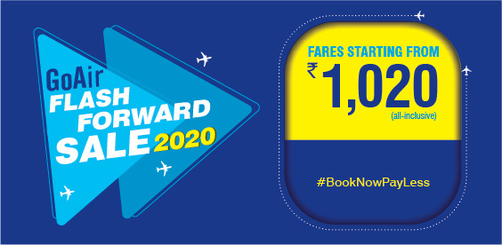 Fly Smart in 2020 GoAir Sale