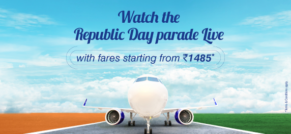 Fly with GoAir to experience India's glory