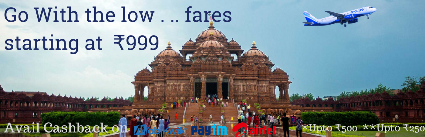 Go With The Low Fares Starting At Rs 999 IndiGo