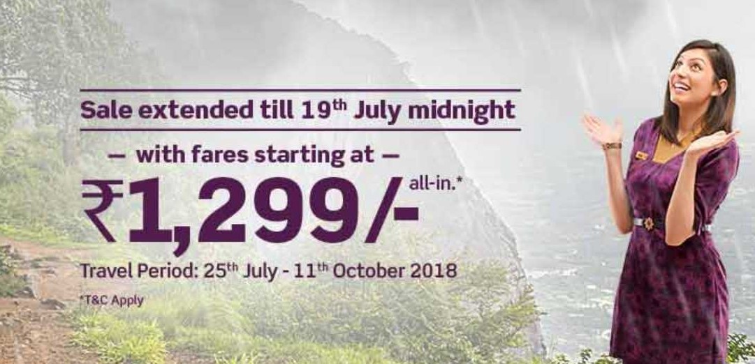 When it rains it pours the grand Vistara Monsoon sale