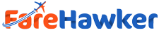 FareHawker Logo search flight,hotel and travel deal
